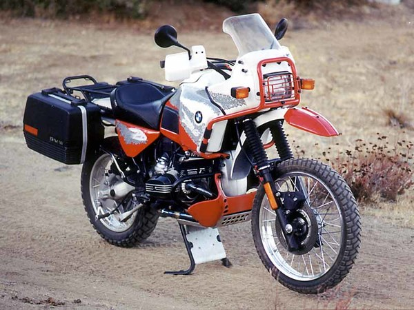 BMW R 100 GS Paris-Dakar