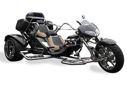 Automatic Motorcycle Trike Boom Trikes v2 Automatic