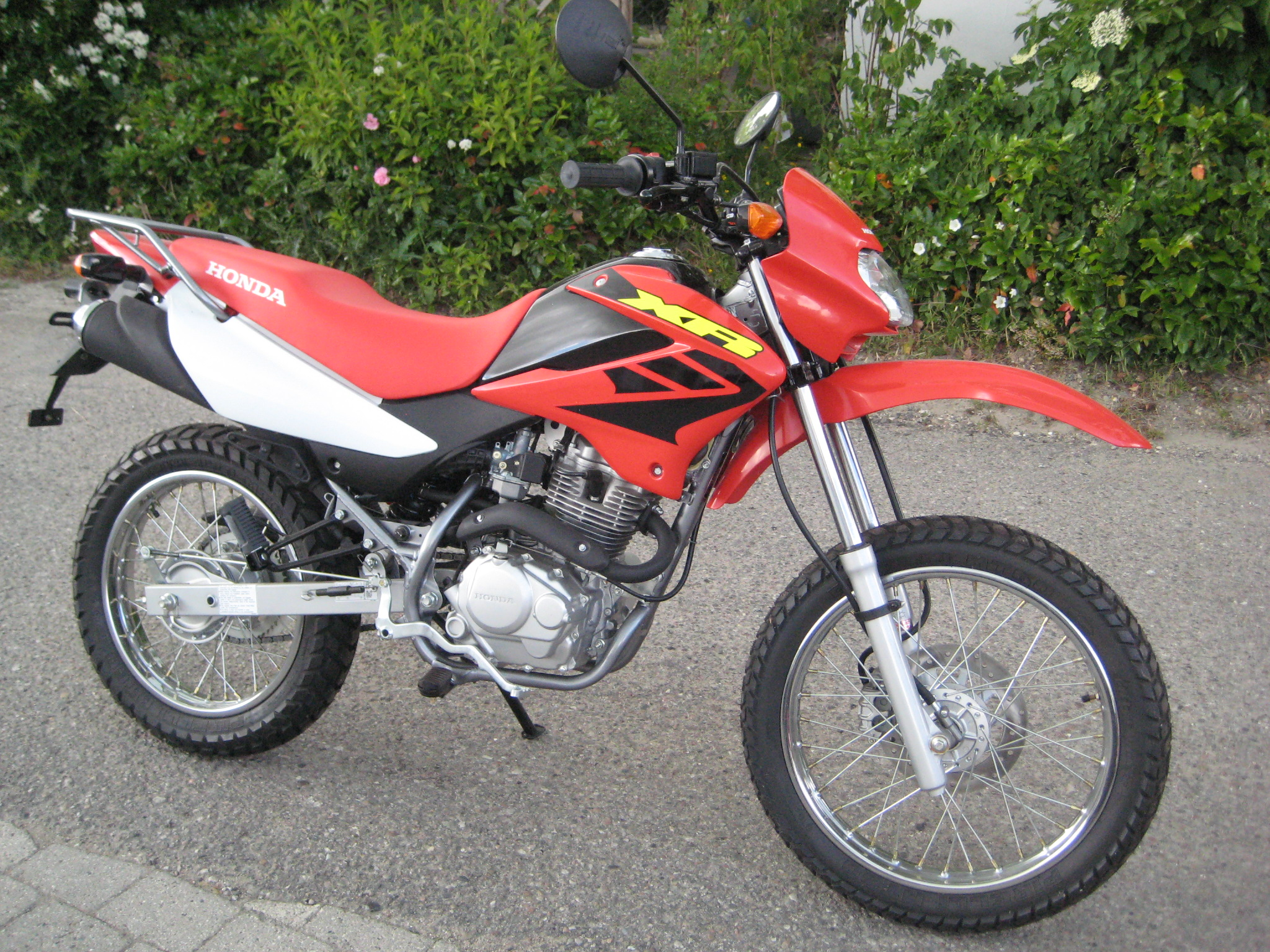 honda xr 125 dirt bike bing images. Black Bedroom Furniture Sets. Home Design Ideas