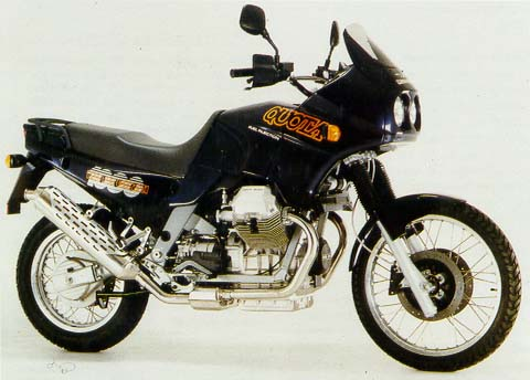 Moto Guzzi 1000 Quota Injection
