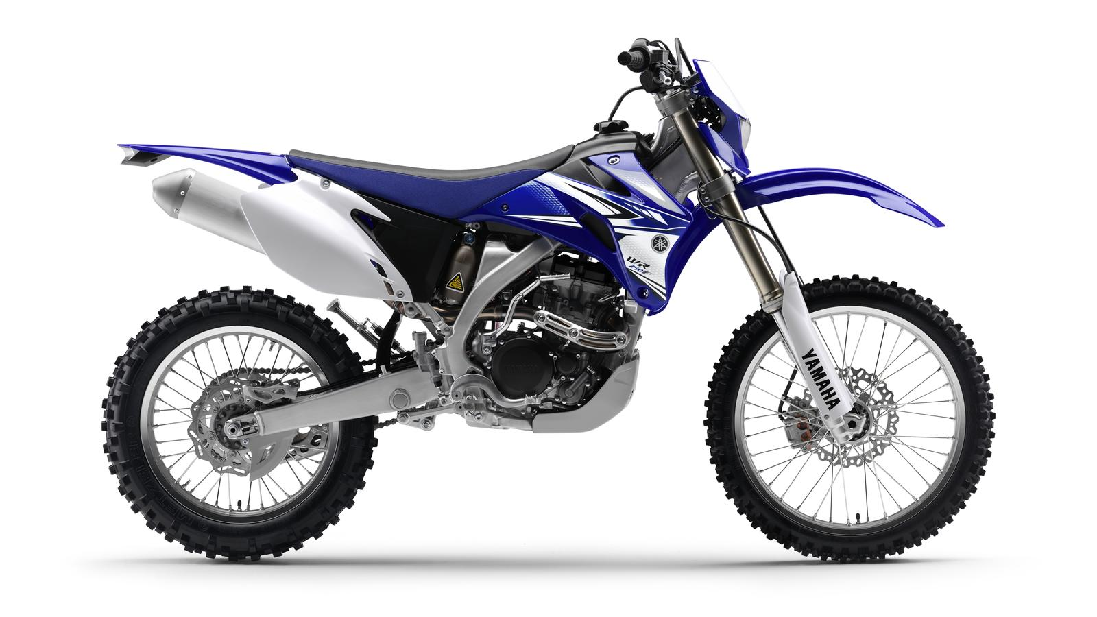List of enduro offroad type motorcycles for Yamaha motorcycle types